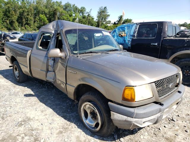 Salvage trucks for sale at Tifton, GA auction: 2003 Ford Ranger SUP