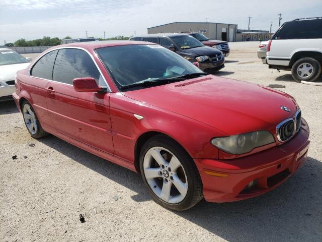 Salvage cars for sale from Copart San Antonio, TX: 2006 BMW 325 CI