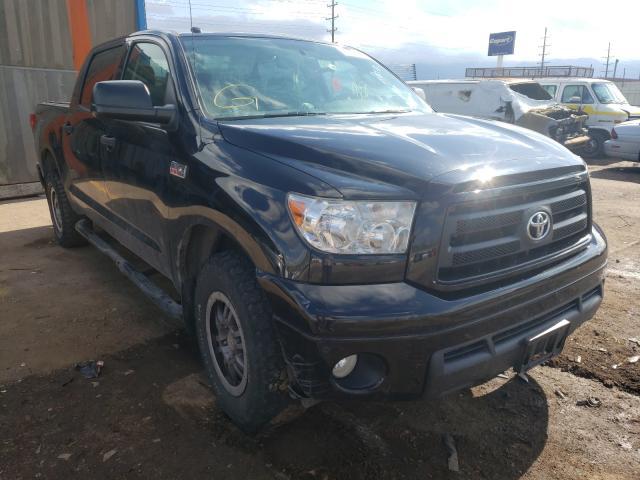 Vehiculos salvage en venta de Copart Colorado Springs, CO: 2012 Toyota Tundra CRE
