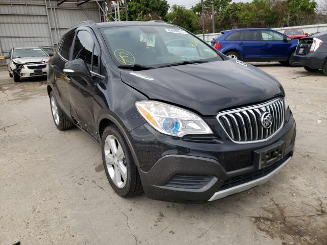 Salvage cars for sale from Copart Corpus Christi, TX: 2016 Buick Encore