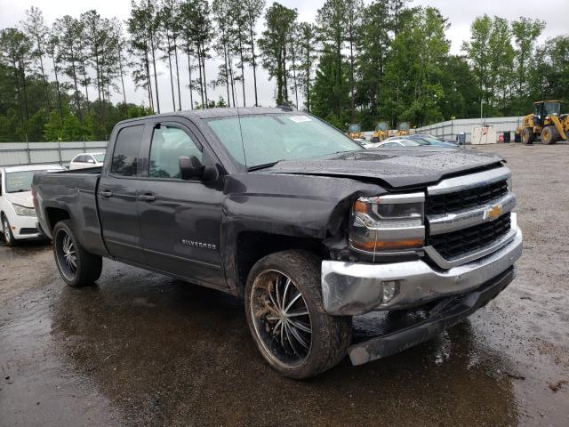 Salvage trucks for sale at Harleyville, SC auction: 2016 Chevrolet Silverado