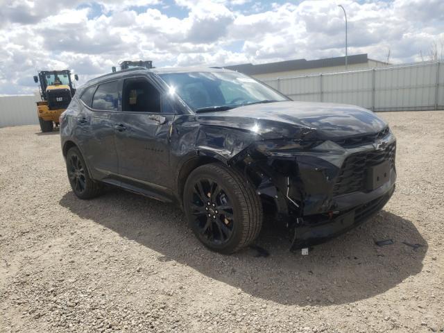 Vehiculos salvage en venta de Copart Bismarck, ND: 2020 Chevrolet Blazer RS