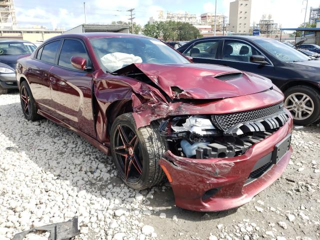 Salvage cars for sale from Copart New Orleans, LA: 2019 Dodge Charger R