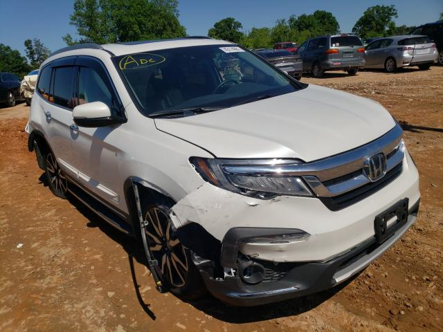 Salvage cars for sale from Copart China Grove, NC: 2020 Honda Pilot Elit