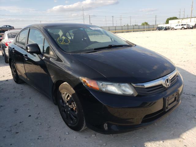 2012 Honda Civic LX en venta en Haslet, TX