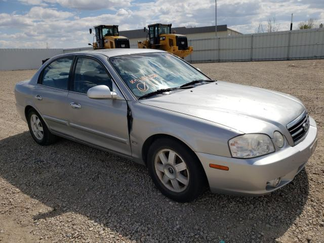 Salvage cars for sale from Copart Bismarck, ND: 2006 KIA Optima LX