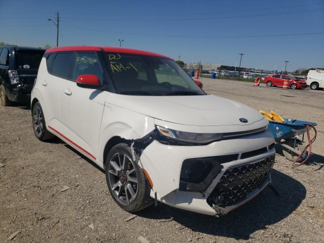 KIA Soul GT LI salvage cars for sale: 2020 KIA Soul GT LI