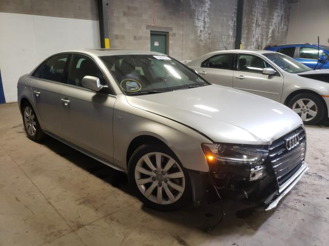 Salvage cars for sale at Chalfont, PA auction: 2015 Audi A4 Premium