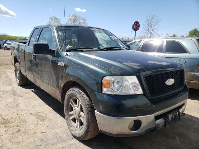 Salvage trucks for sale at Columbia Station, OH auction: 2006 Ford F150