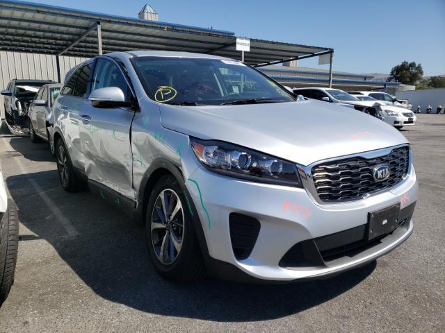 Salvage cars for sale from Copart San Martin, CA: 2020 KIA Sorento S