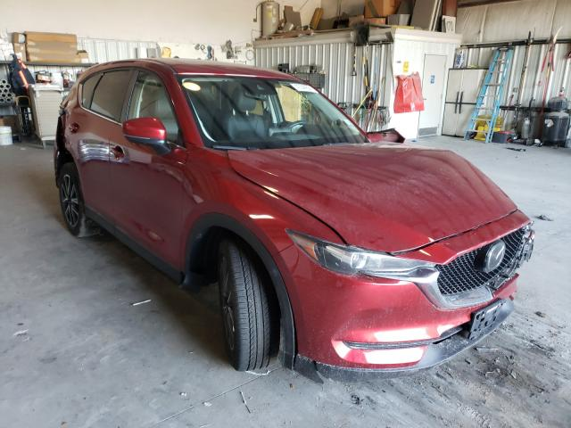 Salvage cars for sale from Copart Savannah, GA: 2018 Mazda CX-5 Touring