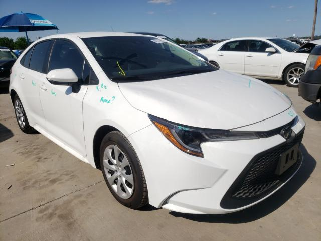 Salvage cars for sale from Copart Grand Prairie, TX: 2020 Toyota Corolla LE