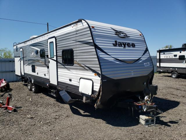 Salvage cars for sale from Copart Columbia Station, OH: 2018 Jayco Trailer