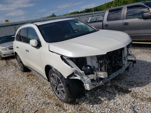 Acura Vehiculos salvage en venta: 2018 Acura MDX Advance