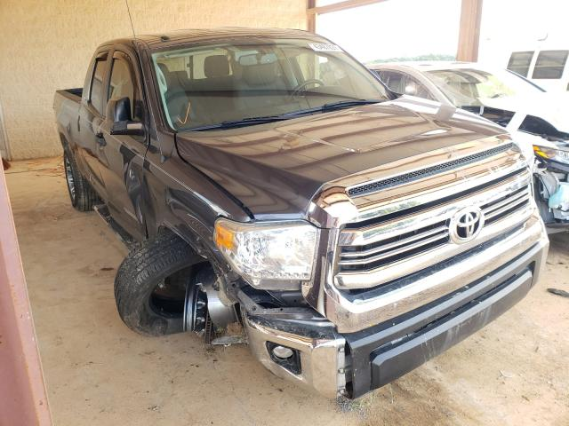 Salvage cars for sale from Copart Tanner, AL: 2017 Toyota Tundra DOU