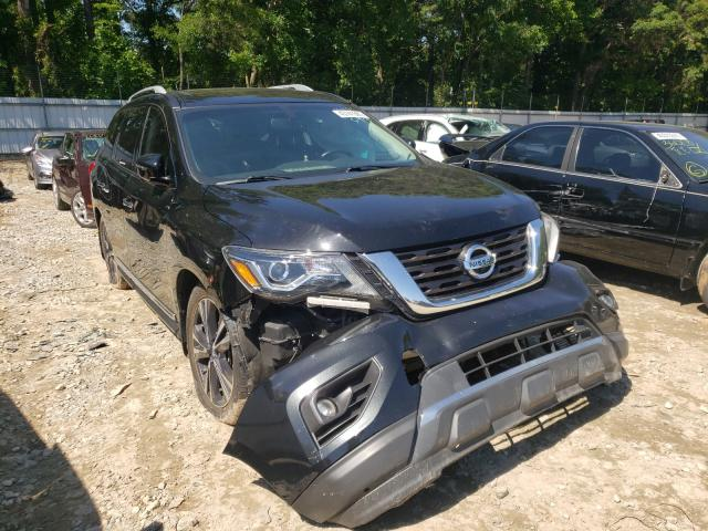Salvage cars for sale from Copart Austell, GA: 2017 Nissan Pathfinder