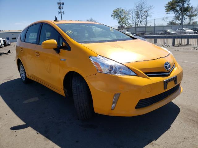 Carros híbridos a la venta en subasta: 2014 Toyota Prius V