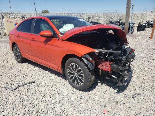 Salvage cars for sale from Copart Farr West, UT: 2019 Volkswagen Jetta S