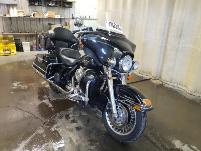 Harley-Davidson salvage cars for sale: 2012 Harley-Davidson Flhtcu ULT