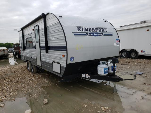 Gulf Stream salvage cars for sale: 2020 Gulf Stream Kingsport