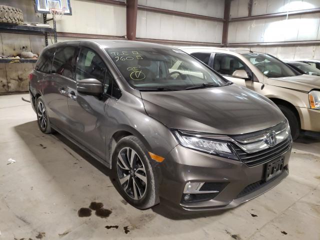 Salvage cars for sale from Copart Eldridge, IA: 2018 Honda Odyssey EL