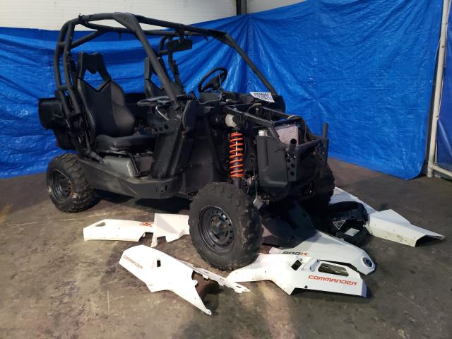 Salvage cars for sale from Copart Moncton, NB: 2018 Can-Am Commander