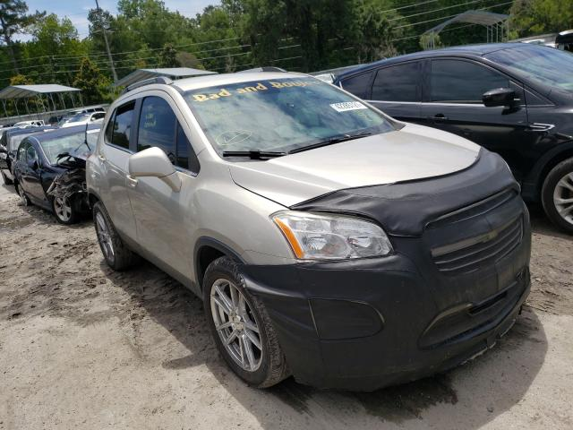 Vehiculos salvage en venta de Copart Savannah, GA: 2016 Chevrolet Trax 1LT