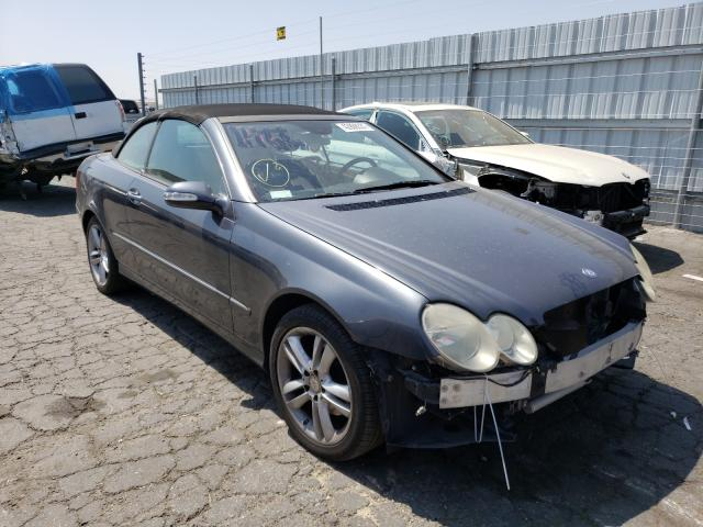 Salvage cars for sale from Copart Colton, CA: 2008 Mercedes-Benz CLK 350