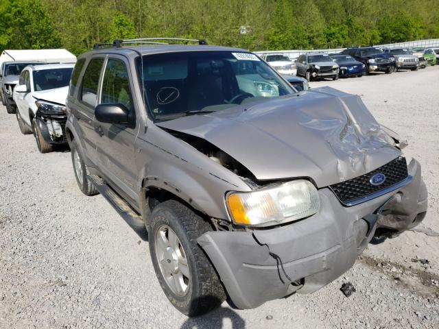 Salvage cars for sale from Copart Hurricane, WV: 2001 Ford Escape XLT
