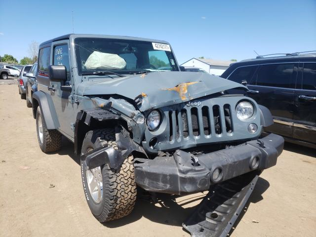 Salvage cars for sale from Copart Columbia Station, OH: 2014 Jeep Wrangler S