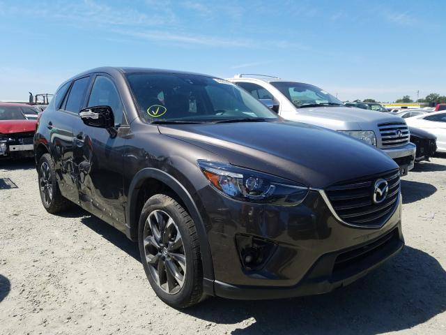 Salvage cars for sale from Copart Antelope, CA: 2016 Mazda CX-5 GT