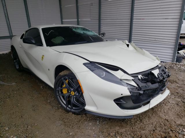 Salvage cars for sale from Copart Ellenwood, GA: 2019 Ferrari 812 Superf