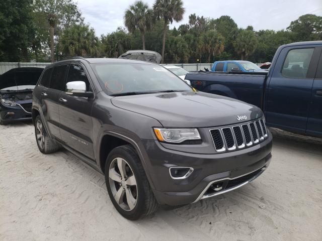 Salvage cars for sale at Fort Pierce, FL auction: 2015 Jeep Grand Cherokee