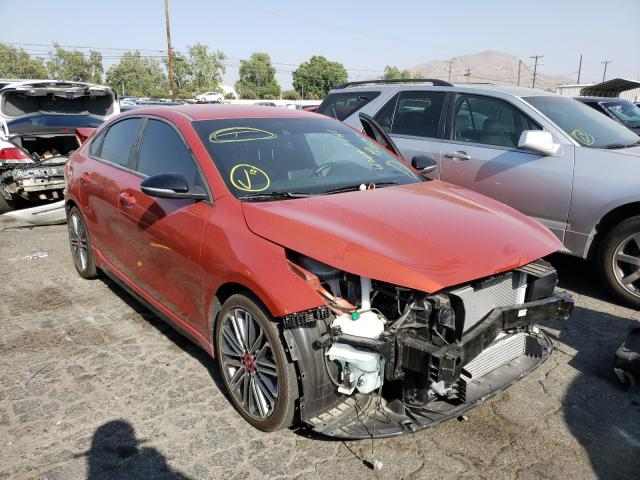 Salvage cars for sale from Copart Colton, CA: 2020 KIA Forte GT
