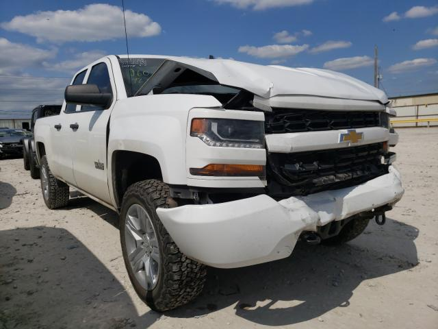 Salvage cars for sale from Copart Haslet, TX: 2018 Chevrolet Silverado