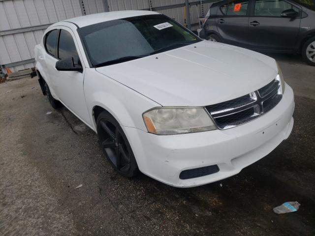 Salvage cars for sale from Copart Orlando, FL: 2012 Dodge Avenger SE