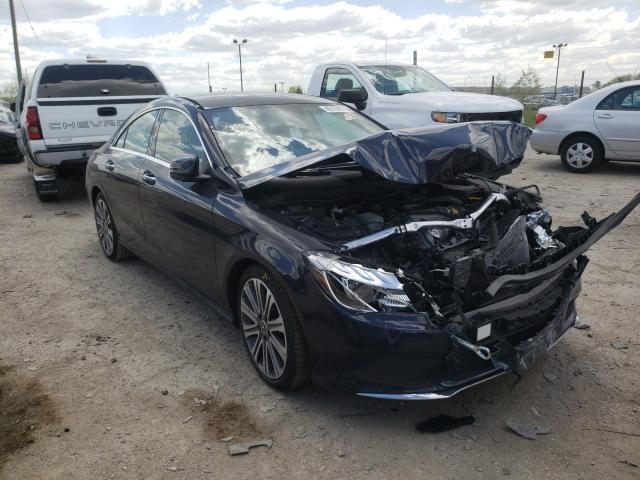Salvage cars for sale from Copart Indianapolis, IN: 2018 Mercedes-Benz CLA 250 4M