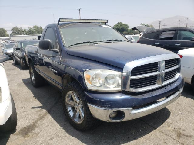Salvage cars for sale from Copart Colton, CA: 2007 Dodge RAM 1500 S