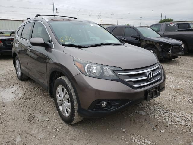 Salvage cars for sale from Copart Haslet, TX: 2014 Honda CR-V EXL