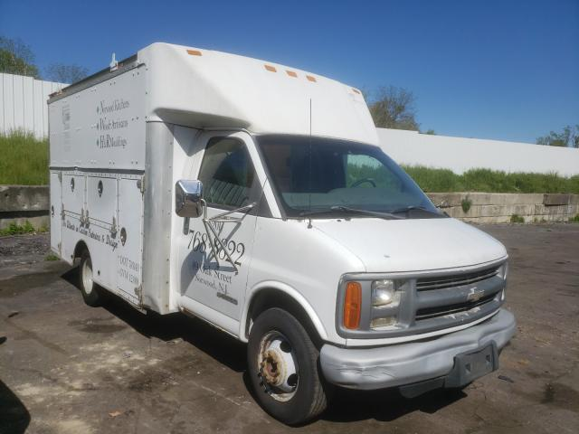 Chevrolet Express salvage cars for sale: 2002 Chevrolet Express