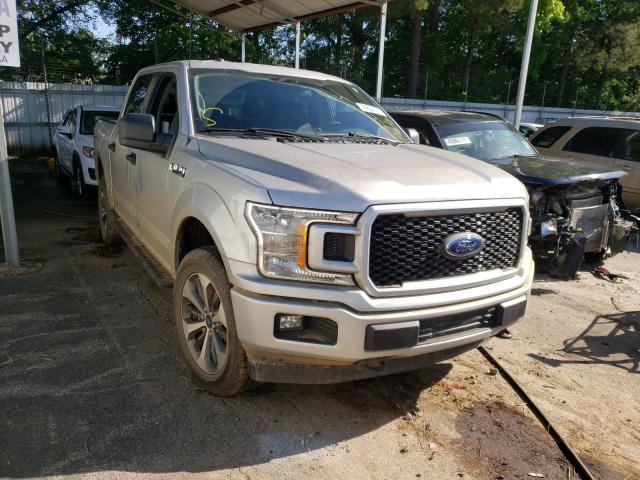 Vehiculos salvage en venta de Copart Austell, GA: 2019 Ford F150 Super
