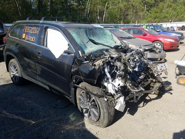 Salvage cars for sale from Copart Lyman, ME: 2019 Toyota Highlander