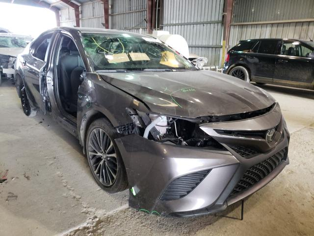 Salvage cars for sale from Copart Greenwell Springs, LA: 2020 Toyota Camry SE