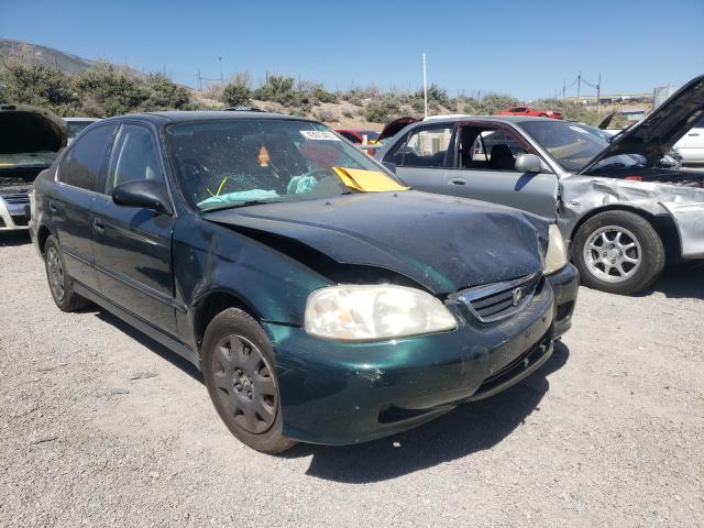 Salvage cars for sale from Copart Reno, NV: 2000 Honda Civic