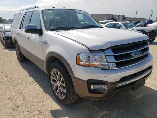 Vehiculos salvage en venta de Copart San Antonio, TX: 2015 Ford Expedition