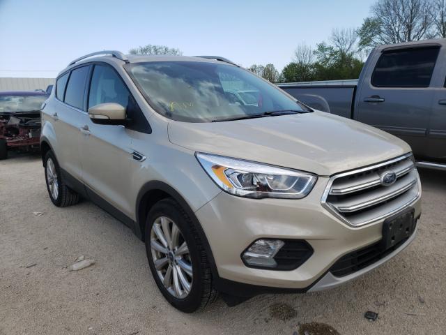 Hail Damaged Cars for sale at auction: 2017 Ford Escape Titanium