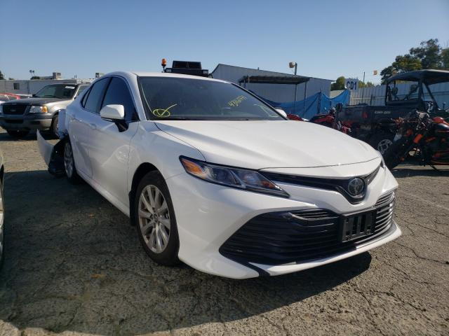 Salvage cars for sale from Copart Vallejo, CA: 2020 Toyota Camry LE