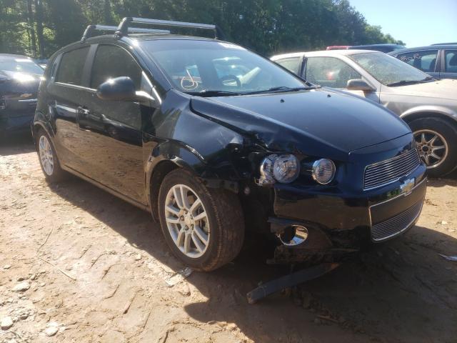 Vehiculos salvage en venta de Copart Austell, GA: 2012 Chevrolet Sonic LT