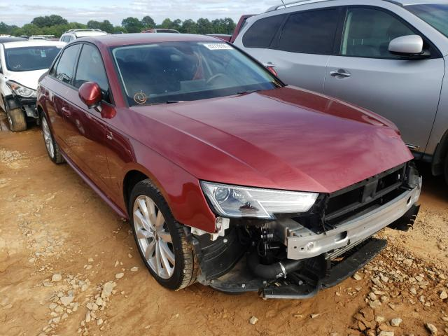 Salvage cars for sale from Copart Tanner, AL: 2018 Audi A4 Premium