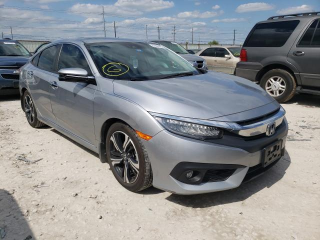 Salvage cars for sale from Copart Haslet, TX: 2016 Honda Civic Touring